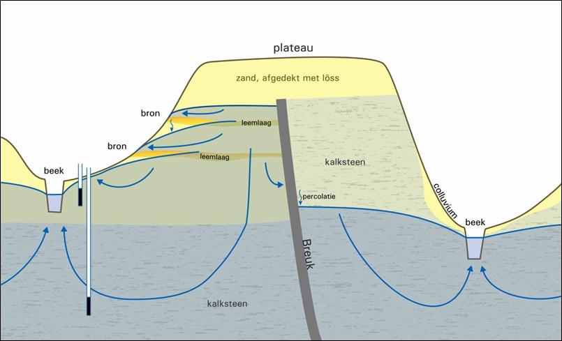 Dwarsdoorsnede van Heuvelland, Witte, J.P.M. et al, 2007